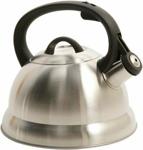 Mr Coffee 91407.02 Flintshire Tea Kettle 1.75 Quart Silver H