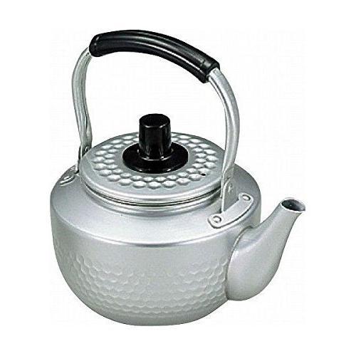 aluminium hammered pattern tea kettle