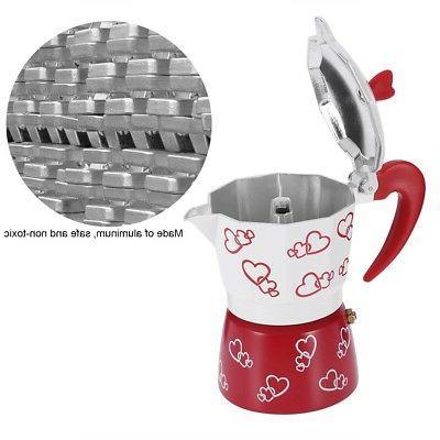 Aluminum Over Coffee Maker Kettle Hand Office