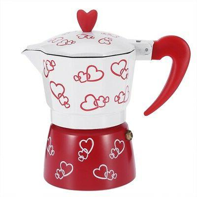 Aluminum Durable Pour Over Coffee Maker Kettle Hand Office