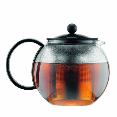 Bodum® Assam 34-oz. Tea Press Teapot Steel