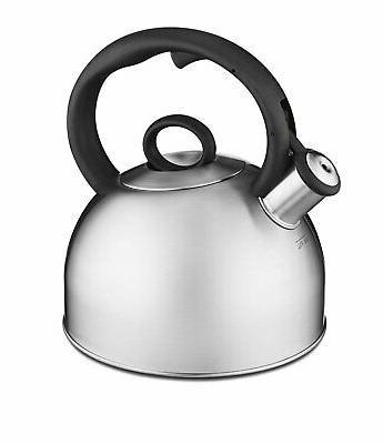 aura stainless steel teakettle