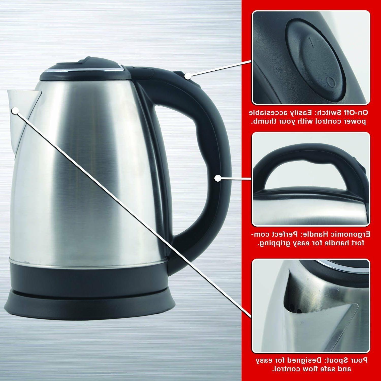 Electric Tea Pot BOIL Cordless 2.0L