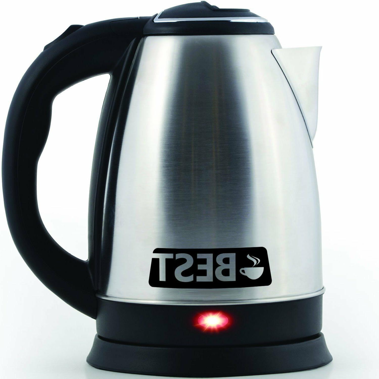 Electric Coffee Pot Hot Water FAST BOIL 2.0L