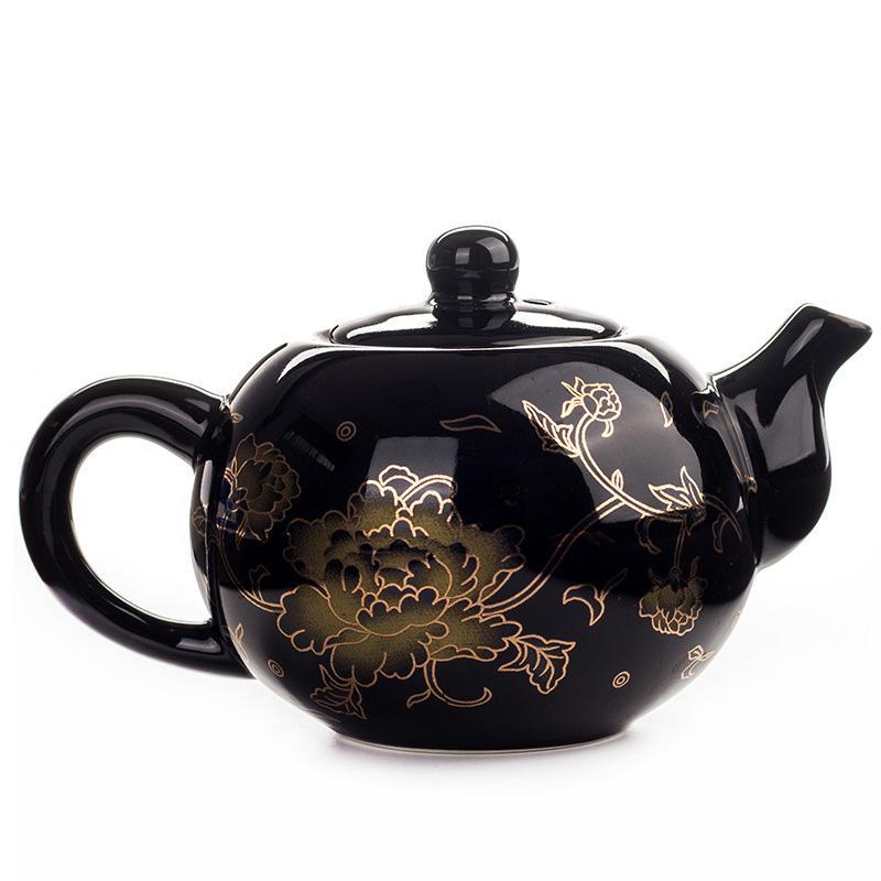 Black <font><b>Tea</b></font> pot Chinese TeaPot Teapot easy teapot <font><b>Ceramic</b></font> Kung Fu Teaware