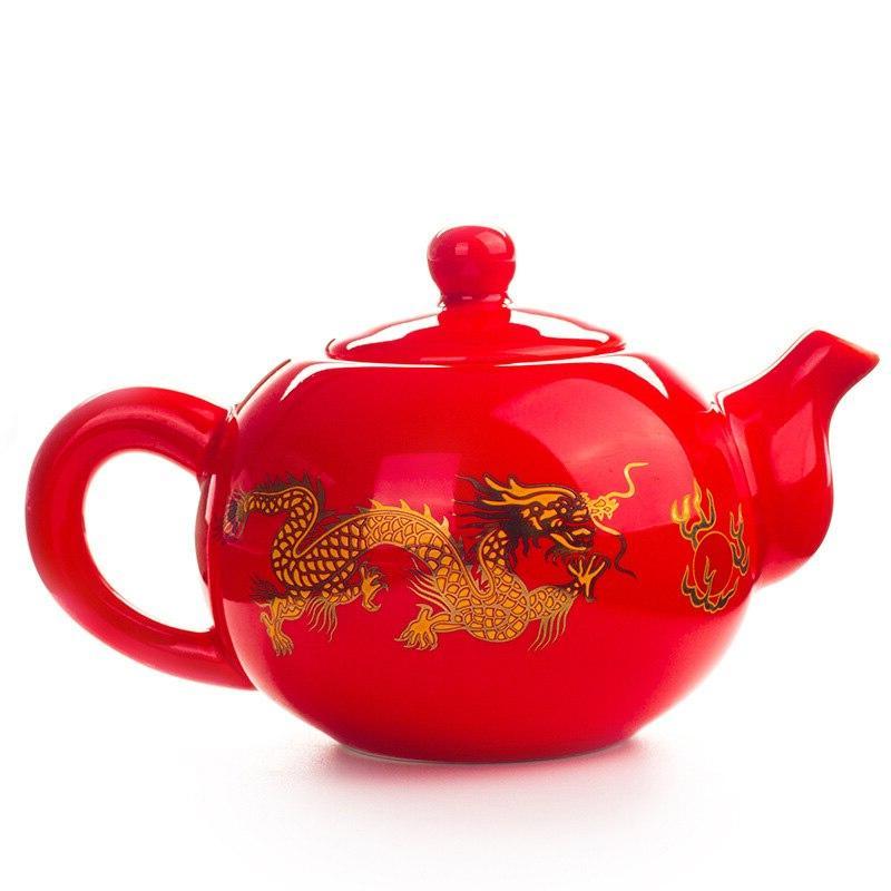 Chinese Dragon Teapot easy <font><b>kettle</b></font> <font><b>Ceramic</b></font> <font><b>Kettle</b></font> Kung Teaware
