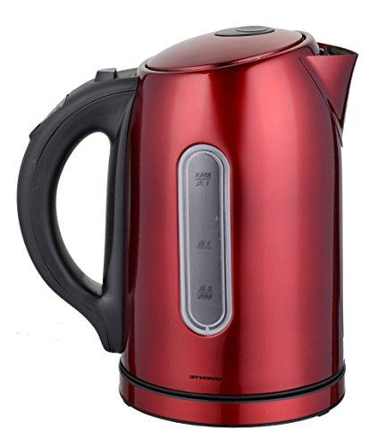 Ovente BPA-Free Temperature Control Cordless Electric Kettle with Keep Shut-Off and Dark BEEP