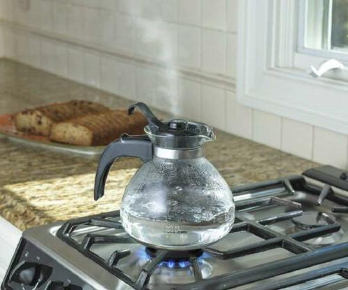 CAFÉ COLLECTION Cup Stovetop Whistling Tea Kettle