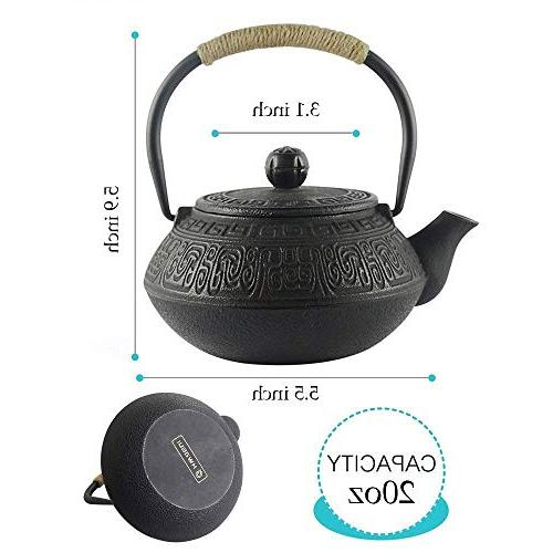 Hwagui - Best Cast Iron Teapot Stainless