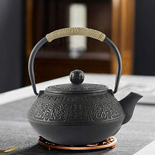 Hwagui Best Cast Iron Teapot With Stainless