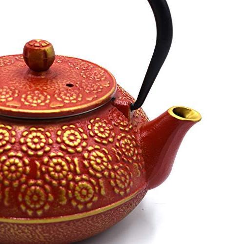 Japanese Durable Iron Tea Fully Enameled