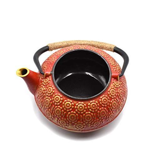 JINGYAT Durable Cast Tea Fully Enameled