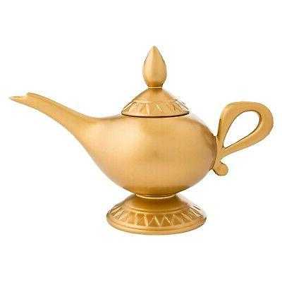 ceramic aladdin lamp teapot collectible genie lamp