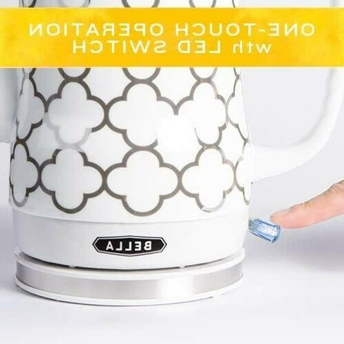 Ceramic Tea Kettle Pot Water Stove Elegant Gift Watt