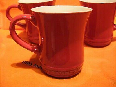 cherry stoneware tea mug