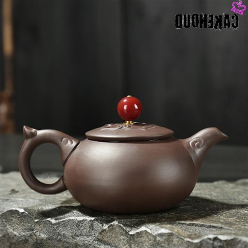CAKEHOUD China Handmade Sand Filter Kung Fu Set <font><b>Ceramic</b></font> Clay <font><b>Kettle</b></font>