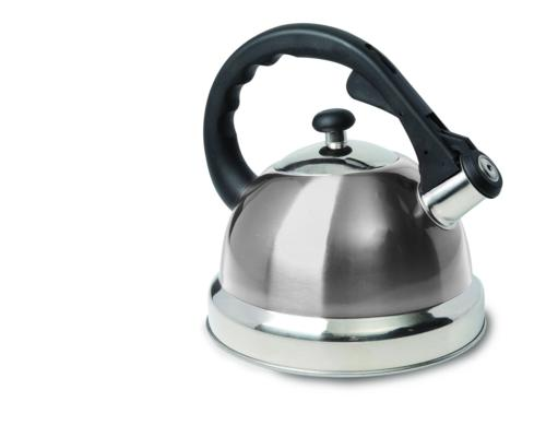 claredale stainless steel whistling tea