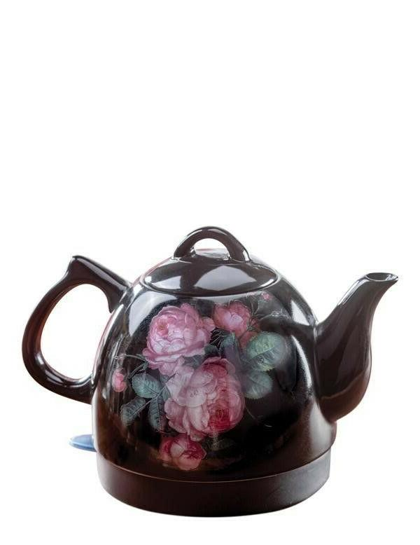 co blooming roses electric hot water tea