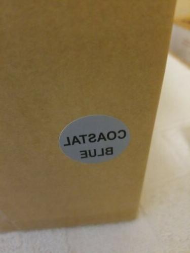 LE CREUSET COASTAL WHISTLING KETTLE QT. NEW/BOX BEAUIFUL
