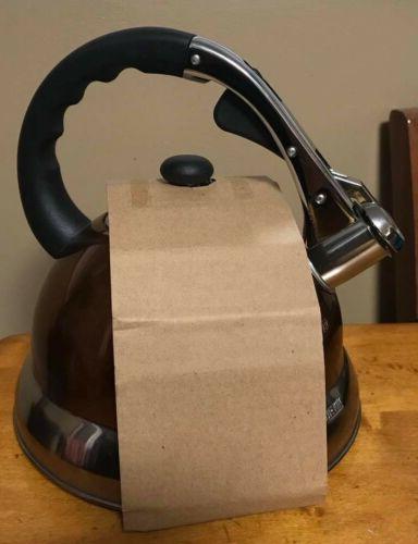Copper Stainless Tea - Maker Pot 2.8 L.