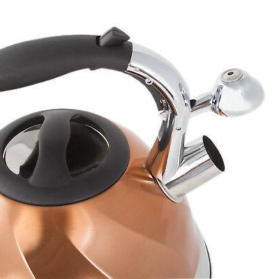 Copper Steel Tea - Tea Maker 2.8 L.