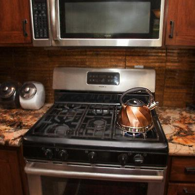 Copper Stainless Tea - Tea Maker Pot