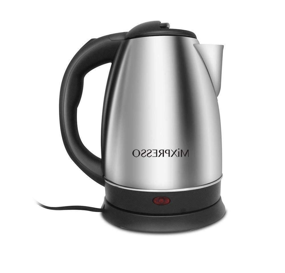Cordless Coffee Hot Water Boiler Stainless