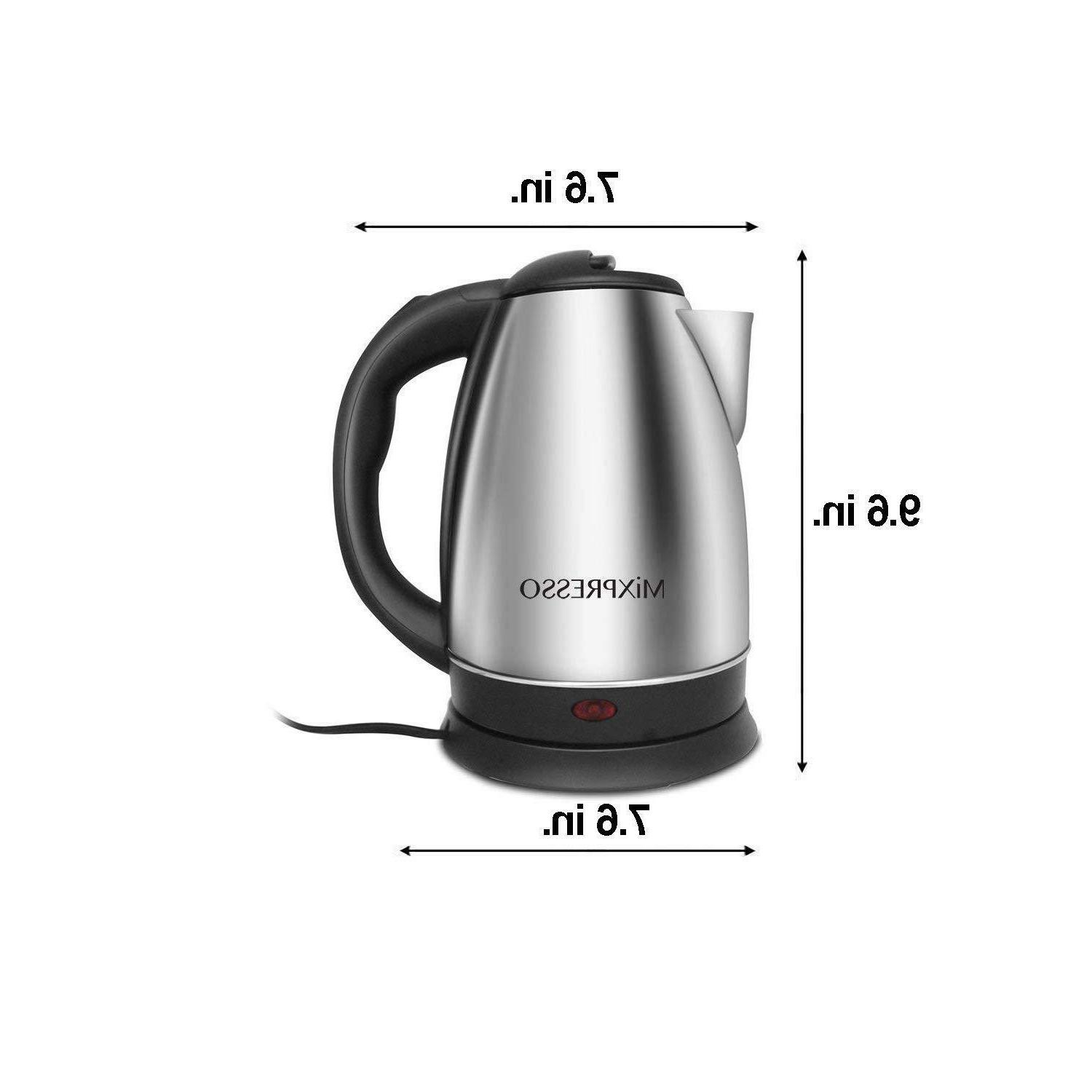 Cordless Kettle Coffee Hot Boiler