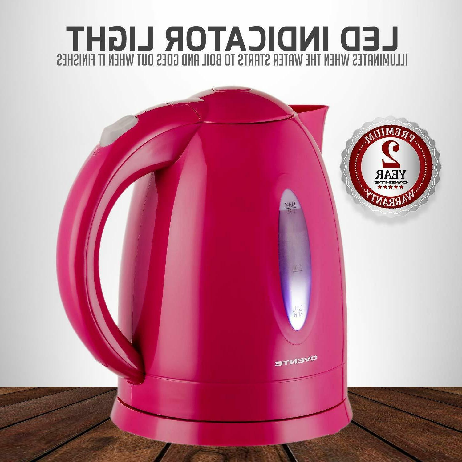 Cordless Electric Tea Fast Heater 1100W
