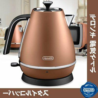 distinta collection electric kettle style copper kbi1200j