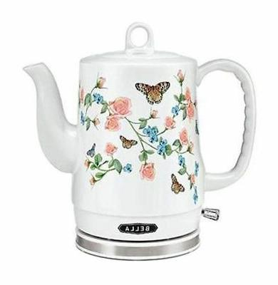 electric 1 2l butterfly kettle white