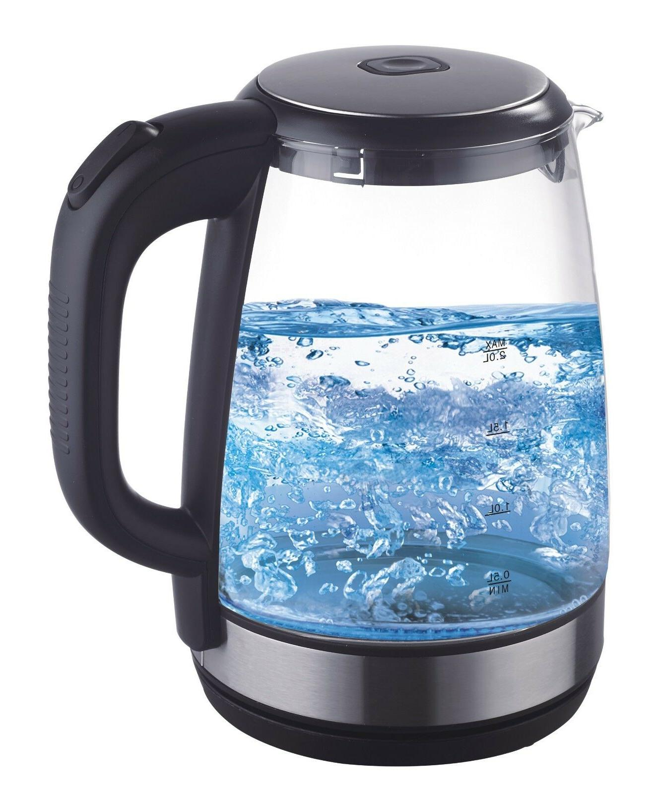electric 2 0l glass water boiler fast