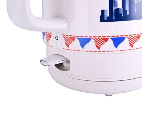CIMERAC Ceramic Tea Water With Detachable Boil Protection,Statue of Liberty