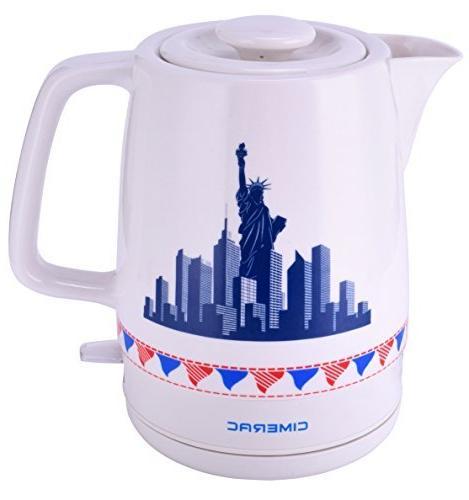 electric ceramic tea coffee water