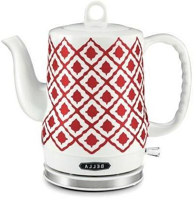 electric ceramic tea kettle