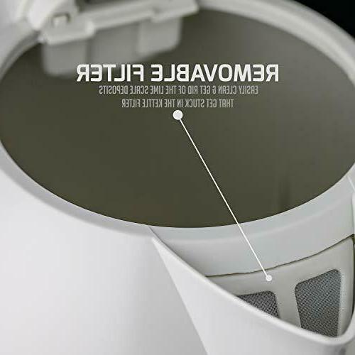 Electric Kettle 1.7 Liter Pot Tea Hot Water - NEW