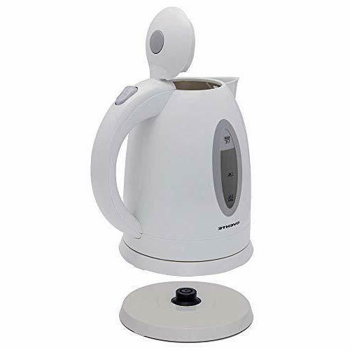 Electric Kettle 1.7 Liter Pot White Tea Hot - NEW