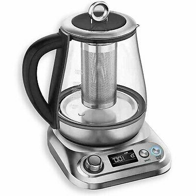 electric glass kettle temperature control and 8