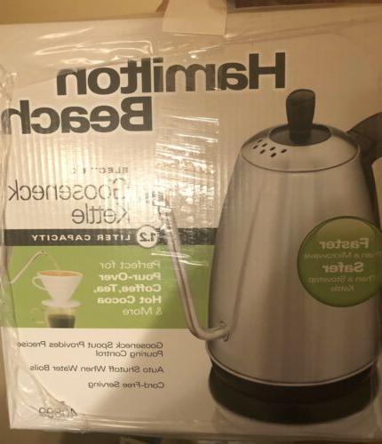 electric gooseneck kettle