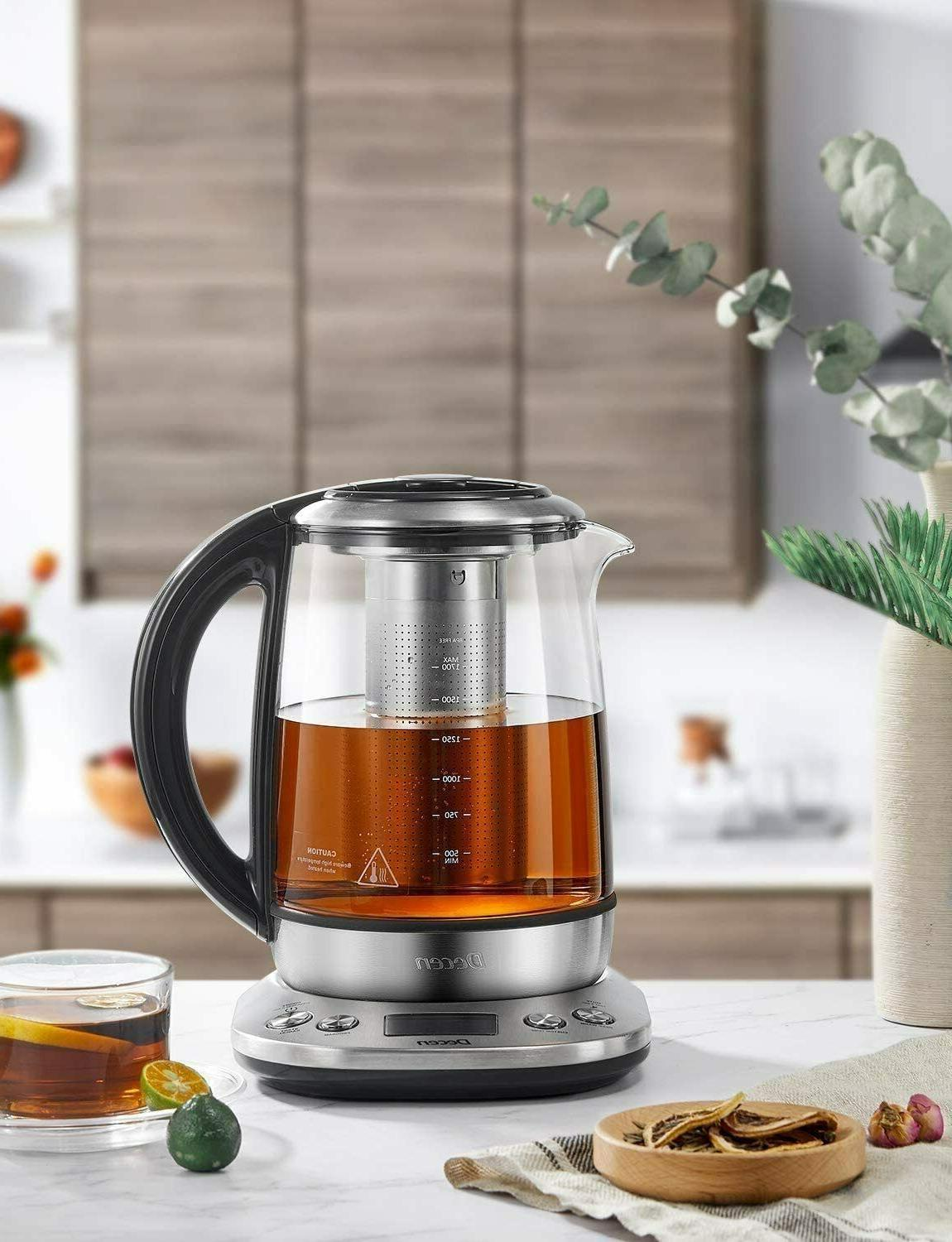 Electric Kettle 1.7L Tea Maker