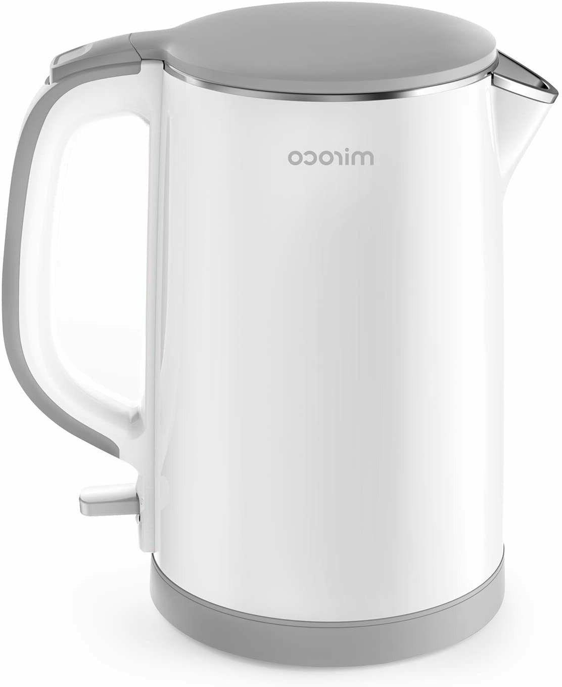 electric kettle double wall 100 percent stainless