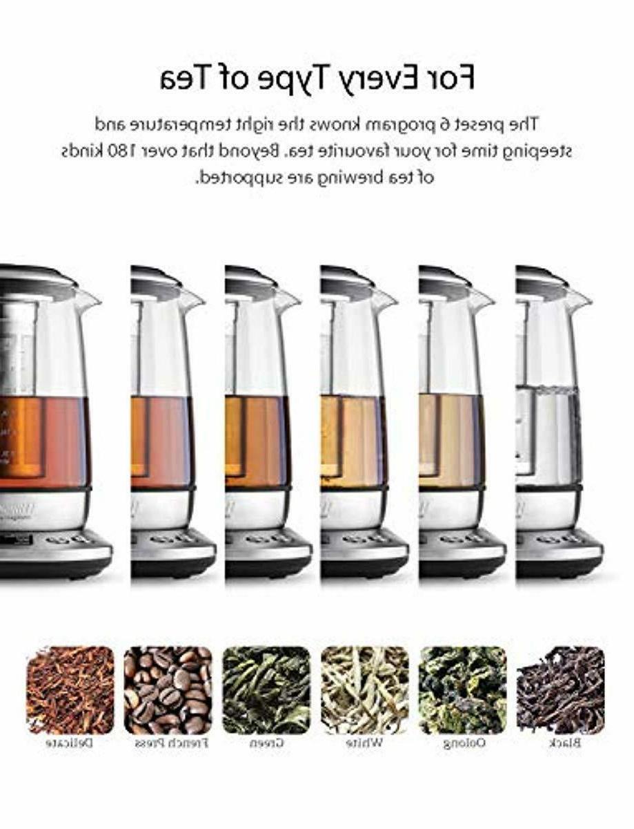 Willsence Kettle, Electric Tea Glass Hot