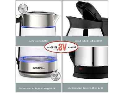 RinKmo Electric Kettle Fast Boiling Kitchen Kettle Pot