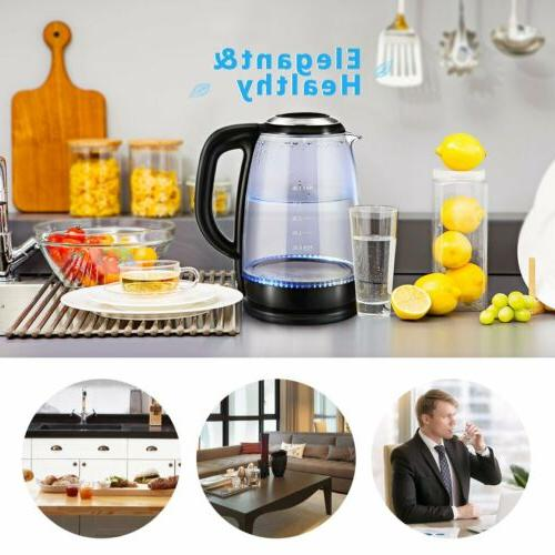 1.8L Electric Kettle Coffee Tea Boiler Warm Fast Boiling