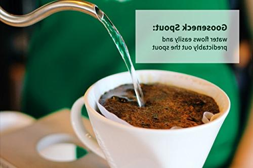 Electric for Over Drip Coffee Thermometer, Strix Auto Shut 1.0L