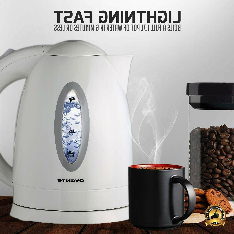 Electric Tea Pot Cordless Coffee Heater Boiler