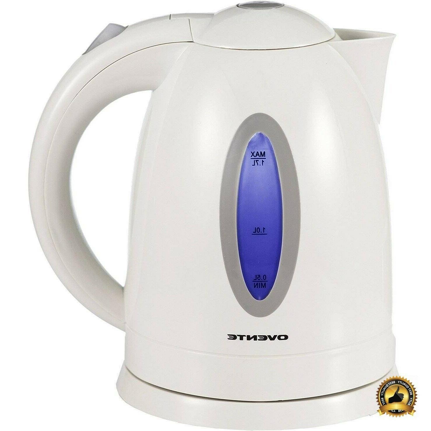 electric kettle tea pot cordless coffee water