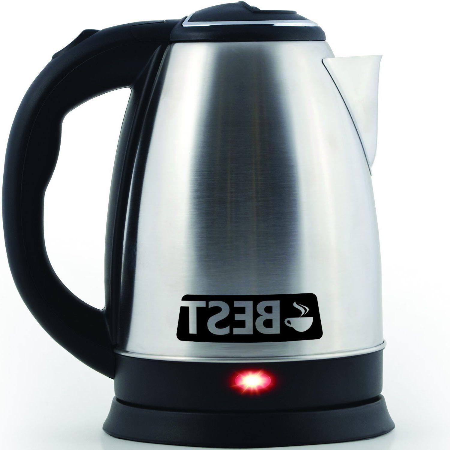 Best Kettle Cordless - HUGE 2.0L Capacity!