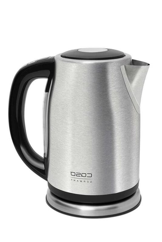 Electric Kettle Hot Water Stainless Pot Boiler