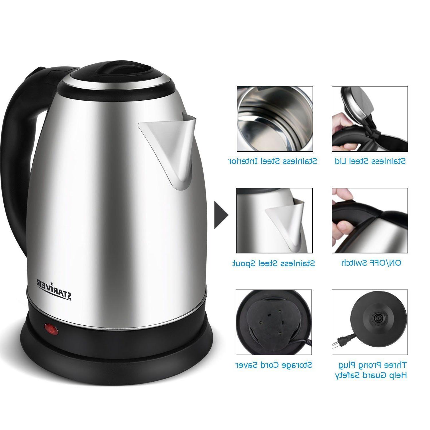 Electric Water Cordless Pot Fast